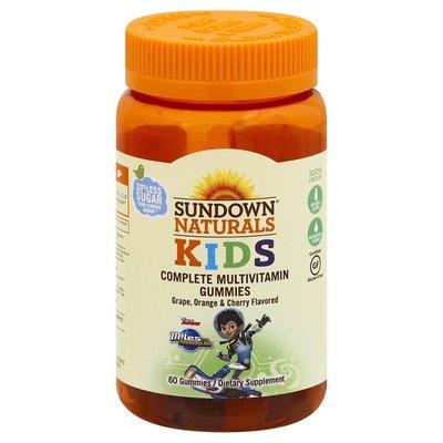 Sundown Naturals Complete Multivitamin, Gummies, Disney Junior Miles from Tomorrowland