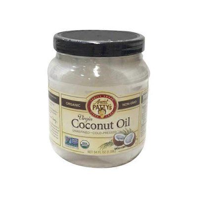 Aunt Patty's Organic Unrefined Virgin Coconut Oil