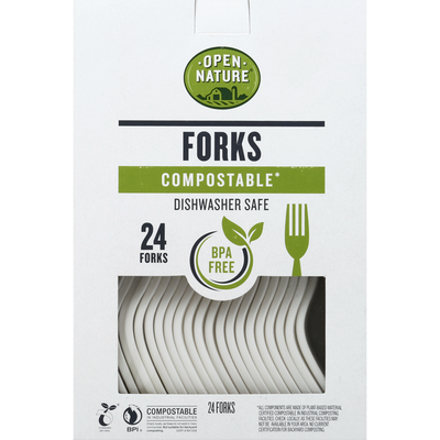 Open Nature Forks, Compostable