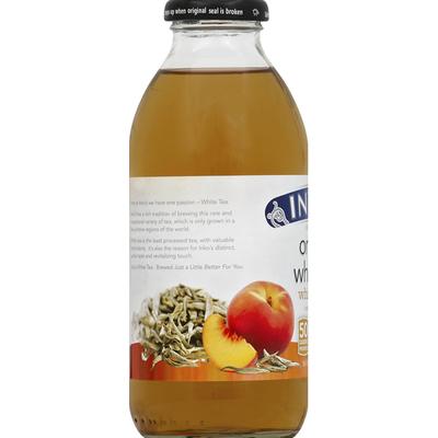 Inko's White Tea, Organic, White Peach