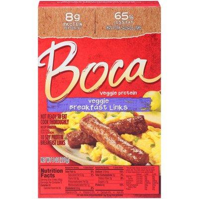 Boca Veggie Breakfast Links