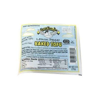 Fresh Tofu Inc. Lemon Pepper Baked Tofu