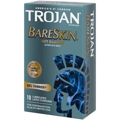 Trojan BareSkin Premium Latex Condoms