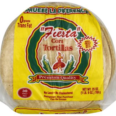 Fiesta Tortillas, Corn, Family Pack