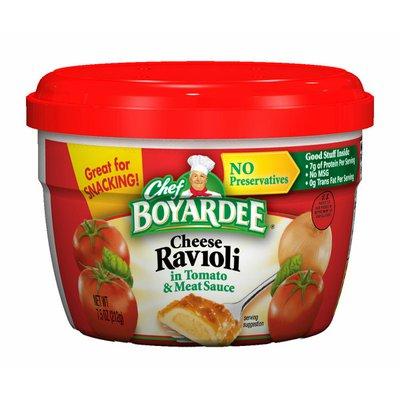 Chef Boyardee Cheese Ravioli in Tomato And Meat Sauce