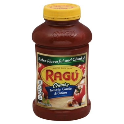 Ragú Chunky Tomato, Garlic & Onion Pasta Sauce