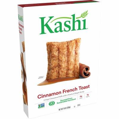 Kellogg's Kashi Breakfast Cereal, Vegan, Fiber Cereal, Cinnamon French Toast