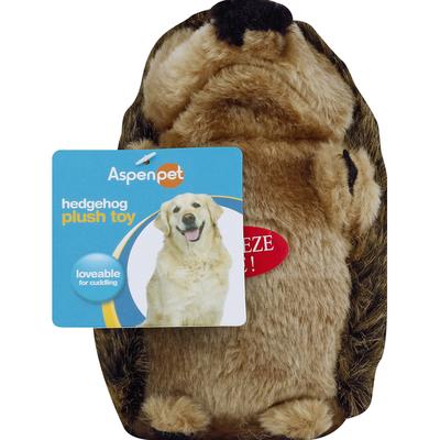 Aspen Pet Plush Toy, Hedgehog, Large