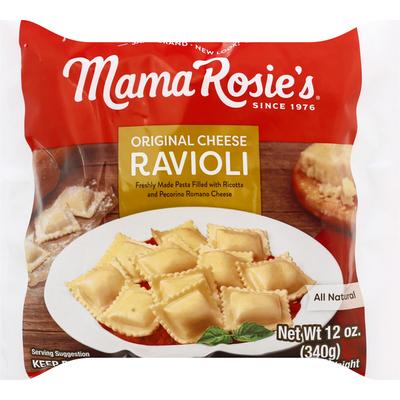 Mama Rosie's Ravioli, Original, Cheese