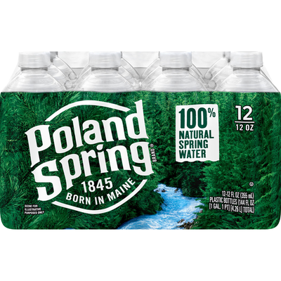 Poland spring Go Size Natural Spring Water