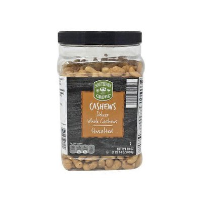 Specially Selected Deluxe Whole Unsalted Cashews