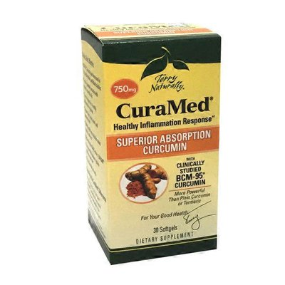 Terry Naturally Curamed 750 Mg Superior Absorption Curcumin Healthy Inflammation Response Dietary Supplement Softgels