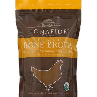 Bonafide Provisions Bone Broth, Organic, Chicken