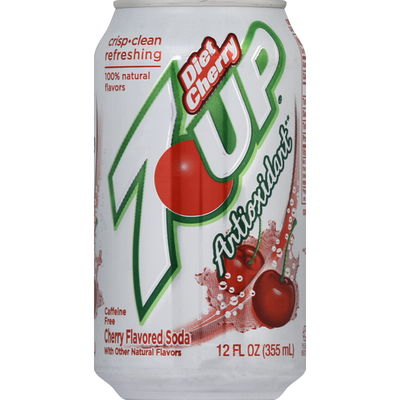 Diet 7UP Cherry Soda