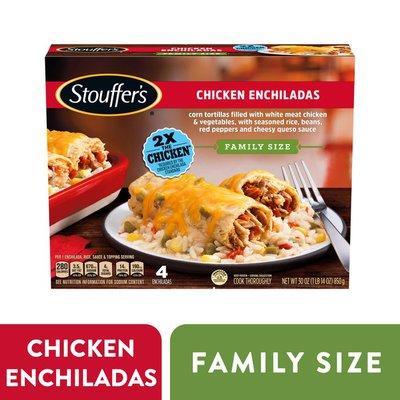 Stouffer's Family Size Chicken Enchiladas Frozen Meal