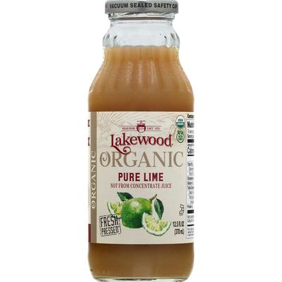 Lakewood Juice, Organic, Pure Lime