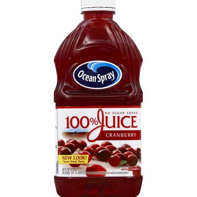 Ocean Spray 100% Juice, Cranberry