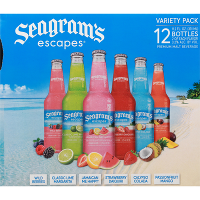 Seagram's Escapes Variety Pack