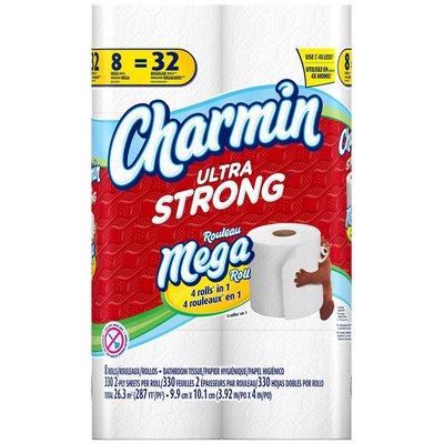 Charmin Ultra Strong Mega Rolls  Toilet Paper