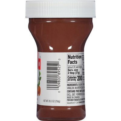 Nutella Chocolate Hazelnut Spread, Perfect Topping for Pancakes