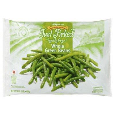 Wegmans Frozen Whole Green Beans