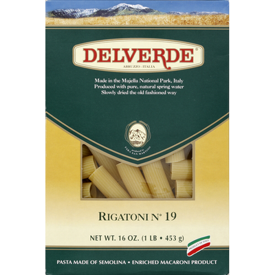 Delverde Rigatoni, No. 19