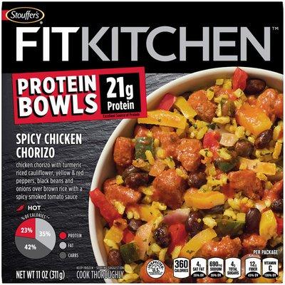 Stouffer's Protein Bowls Spicy Chicken Chorizo