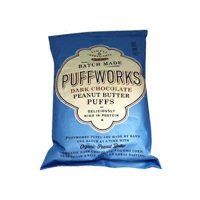 Yowza Dark Chocolate Peanut Butter Puffs