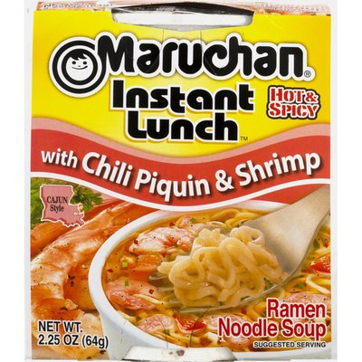 Maruchan Instant Lunch with Chili Piquin & Shrimp