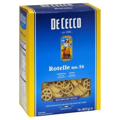 De Cecco Rotelle, No. 54