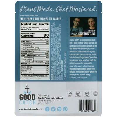 Good Catch Naked in Water Fish-Free Tuna