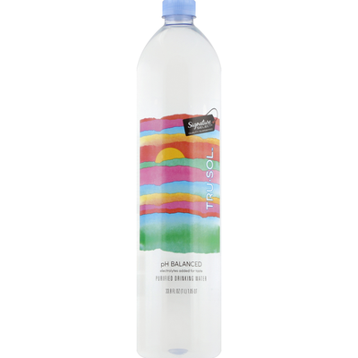 Signature Select Drinking Water, Purified