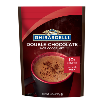 Ghirardelli Chocolate Double Chocolate Premium Hot Cocoa Mix