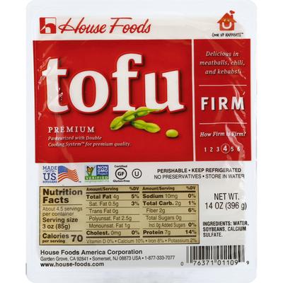 House Foods Tofu, Premium, Firm