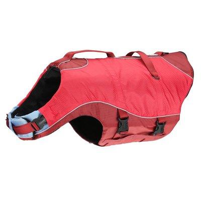 Kurgo Surf N' Turf Dog Red Life Jacket
