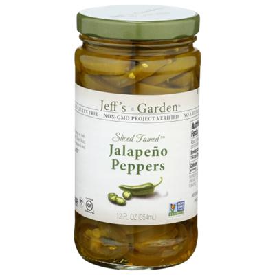 Jeff's Garden Jalapeno Peppers, Gluten Free