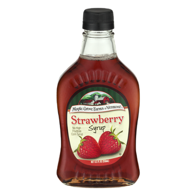 Maple Grove Farms of Vermont Syrup, Strawberry