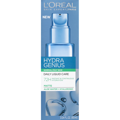 L'Oreal Daily Liquid Care, Matte, Normal/Oily Skin