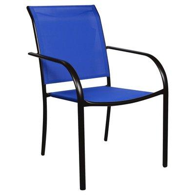 Sunjoy Chair, Stacking, Blue