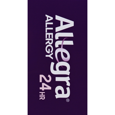 Allegra Allergy Relief, Non-Drowsy, 180 mg, Tablets