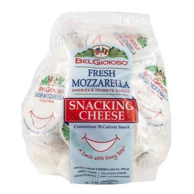 BelGioioso Cheese Fresh Mozzarella Cheese, Snack Pack
