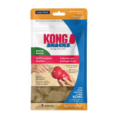 Kong Co. Large Bacon & Cheese Snacks