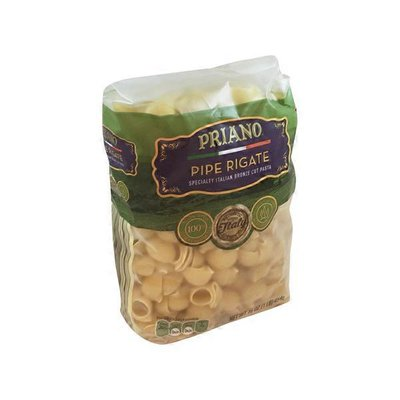 Priano Pipe Rigate Bronze Cut Pasta