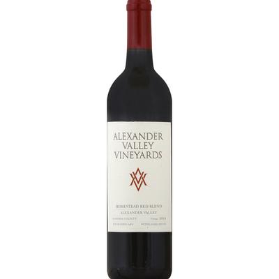 Alexander Valley Vineyards Red Blend, Homestead, Wetzel Family Estate, Sonoma County, 2014