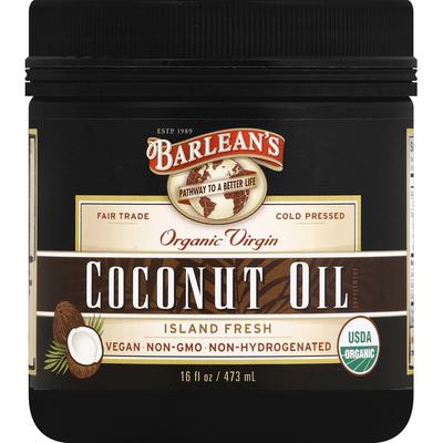 Barlean's Coconut Oil, Organic Virgin