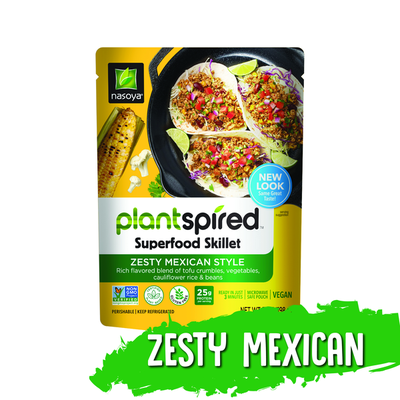 Nasoya Superfood Skillet, Zesty Mexican Style