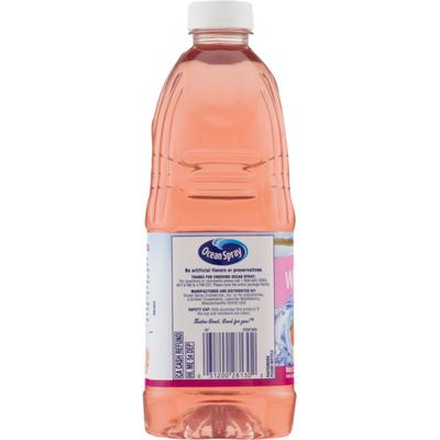 Ocean Spray Juice Drink, White Cran-Strawberry