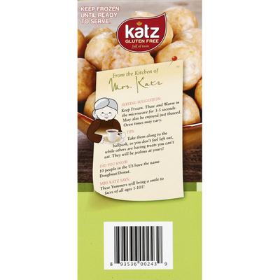Katz Donut Holes, Gluten Free, Glazed