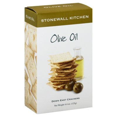 Stonewall Kitchen Crackers, Down East, Olive Oil