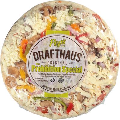 Pep's Drafthaus Pizza, Original, The Prohibition Special